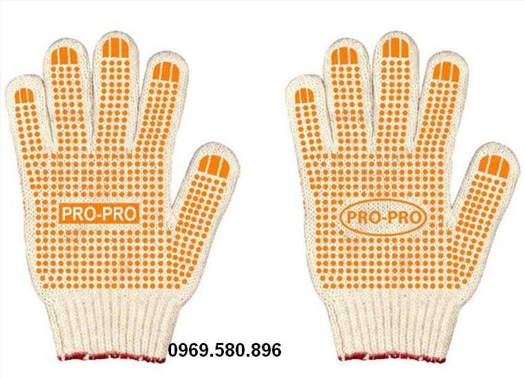 Găng tay sợi hạt nhựa trung quốc