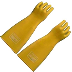Găng tay cao su cách điện cao áp 10 KV mã GT04