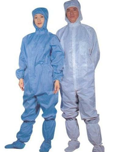 Bộ áo liền quần phòng sạch chống tĩnh điện