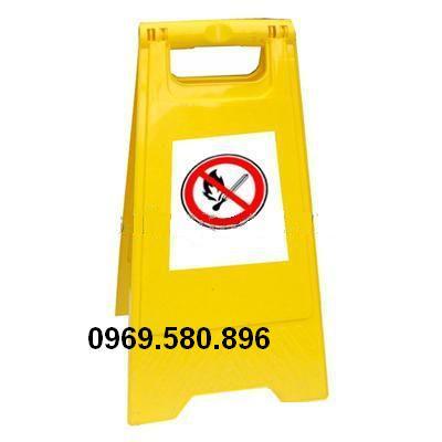 Biển báo cấm húng thuốc, mầu vàng, trung quốc