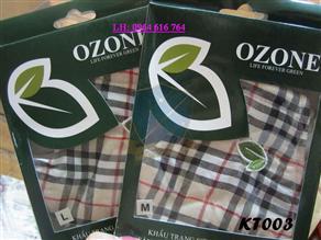 Khẩu trang sợi hoạt tính Ozone