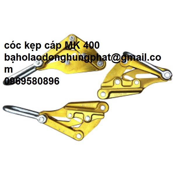 Cóc kẹp cáp MK màu vàng xuất xứ -Trung Quốc   dùng cho đường dây 400 cm