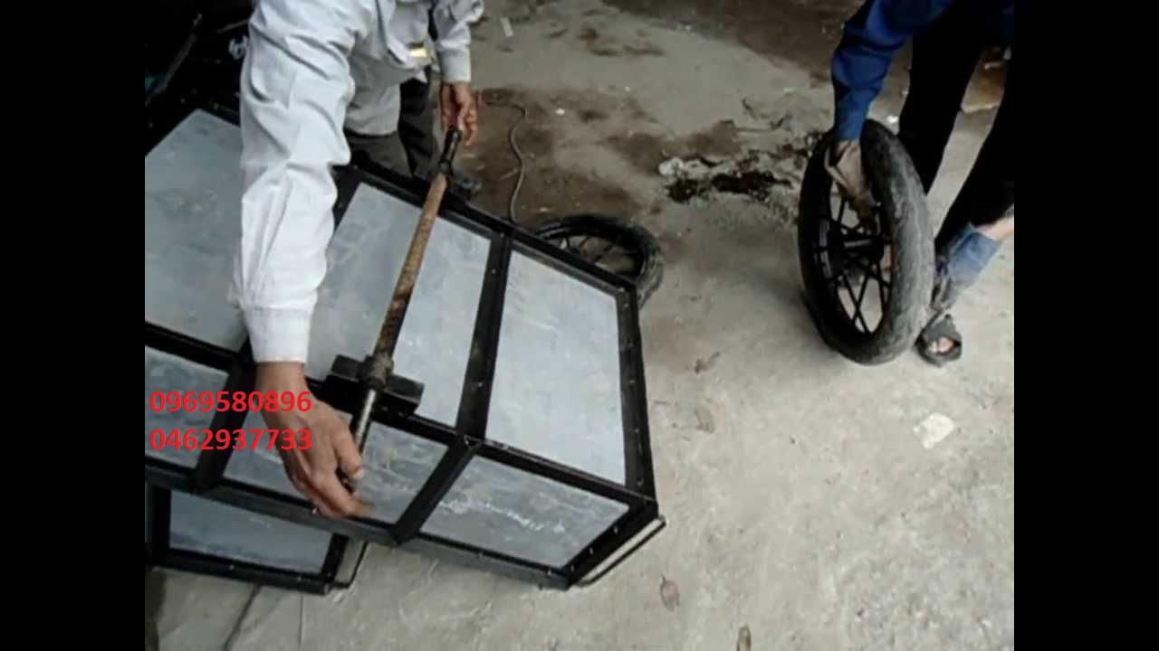 Xe cải tiến chuyên trở vật liệu xây dựng