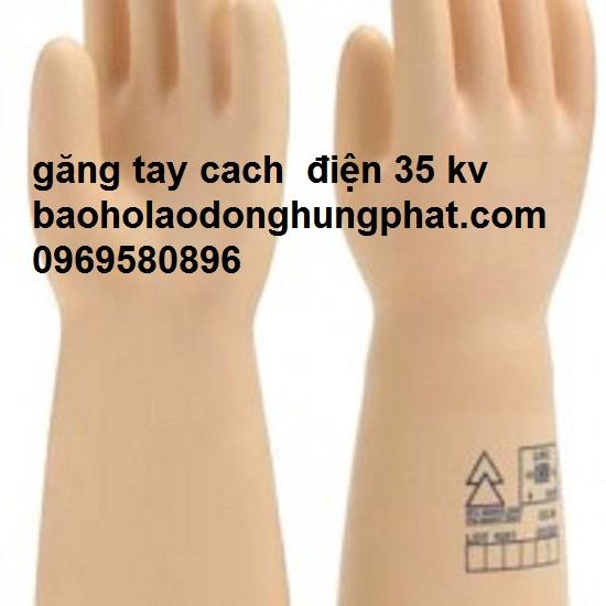 Găng tay cách điện 35 kv xuất xứ pháp