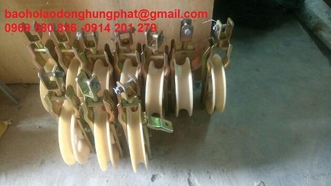 Pu ly nhựa 3 rãnh - giá rẻ  tại Hưng Thịnh Phát