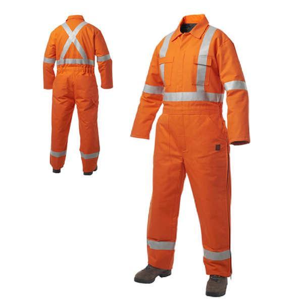 Bộ áo liền quần bảo hộ lao động có phản quang