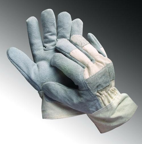 Găng tay chống nóng - găng tay da hàn loại ngắn