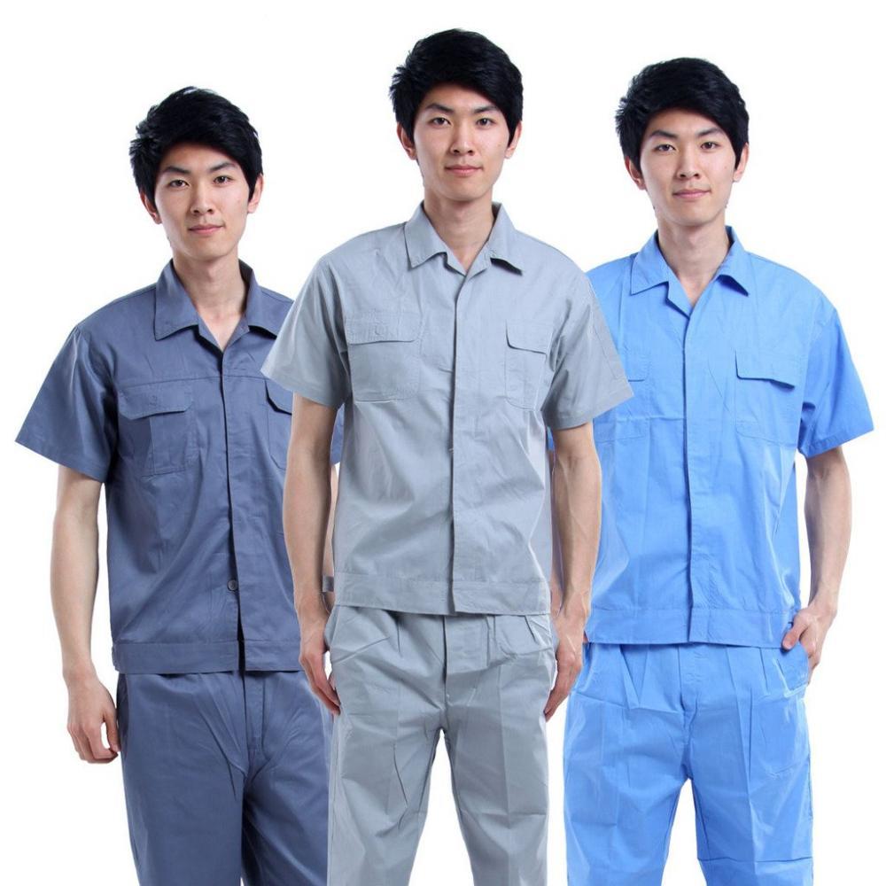 Quần áo bảo hộ lao động kỹ sư cộc tay