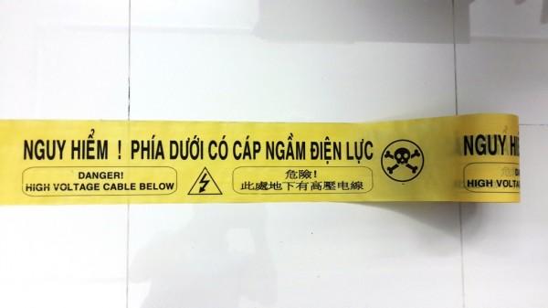 Băng cảnh báo cáp ngầm điện lực