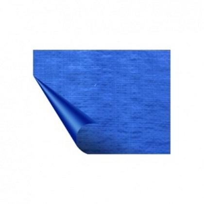 Bạt nhựa 2 mặt mầu xanh dương