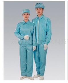 Quần áo phòng sạch rời quần màu xanh