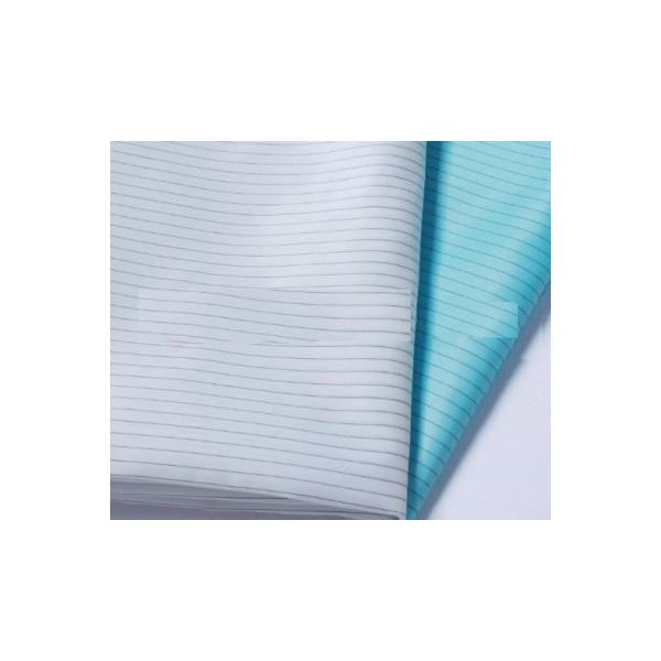 Vải phòng sạch chống tĩnh điện mầu xanh, trắng