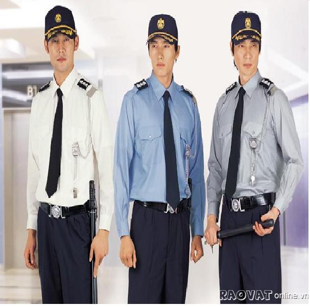 Đồng phục quần áo bảo vệ kiểu dáng Hàn quốc