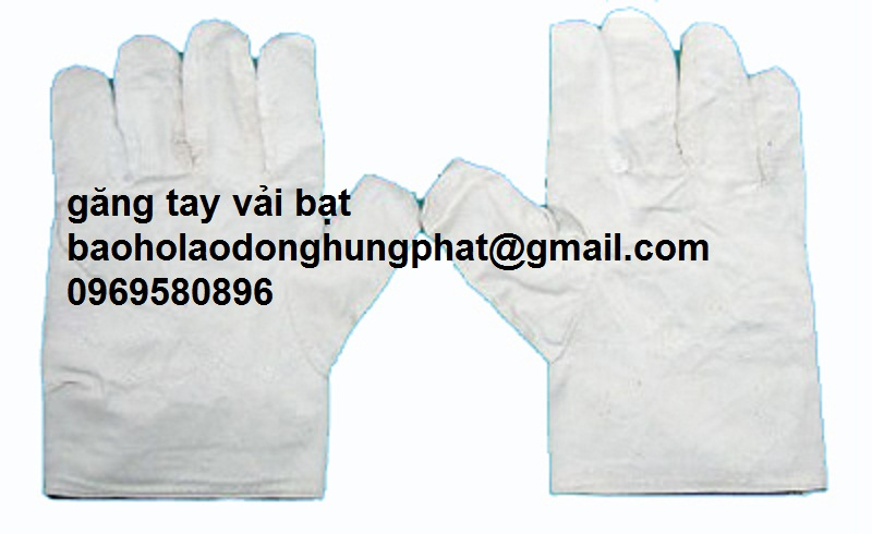 Găng tay vải bạt loại 1  gia  rẻ tại  Hưng Thịnh Phát