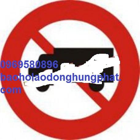 Biển báo giao thông số 106 A  cấm xe tải