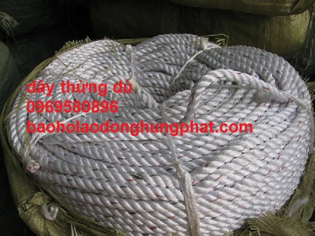Dây thừng dù phi 16  màu trắng  Hàng Việt Nam sản xuất - giá ...
