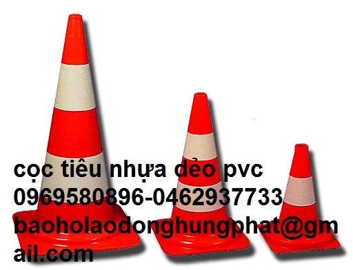 Cọc  Tiêu Giao Thông nhựa dẻo PVC 45 cm nặng 1 kg