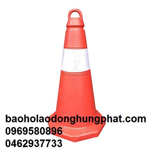Cọc Tiêu Thổi Nhật Quang cao 75 cm rộng đáy 35x 35 cm - nặng tu...