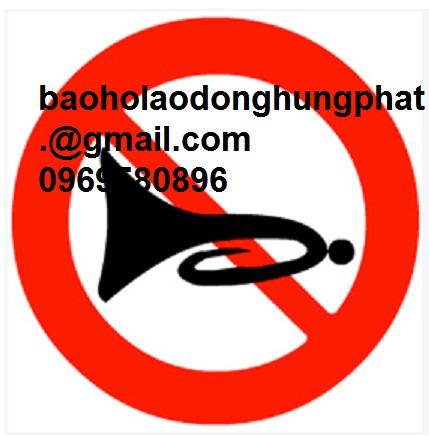 Biển số 128  Cấm Sử Dụng Còi  giá hấp dẫn tại Hưng Thịnh ...