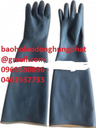 Găng tay a xít đen dài 54 cm