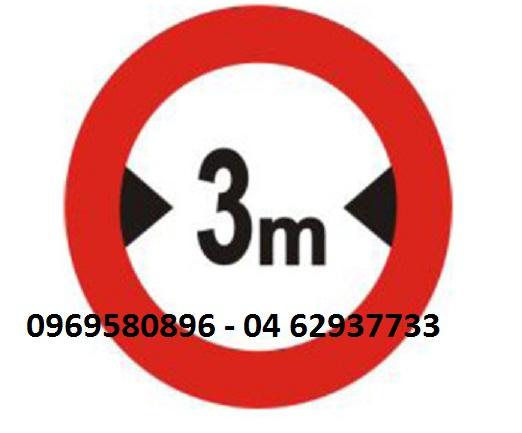 Biển số p 118 hạn chế chiều ngang xe , giá rẻ tai Hưng Thịnh P...