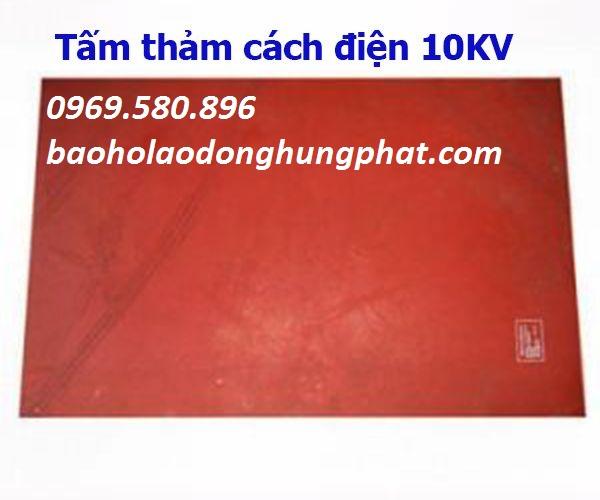 THẢM CÁCH ĐIỆN 10KV  (VI CA DI ) KT 1m x 1m