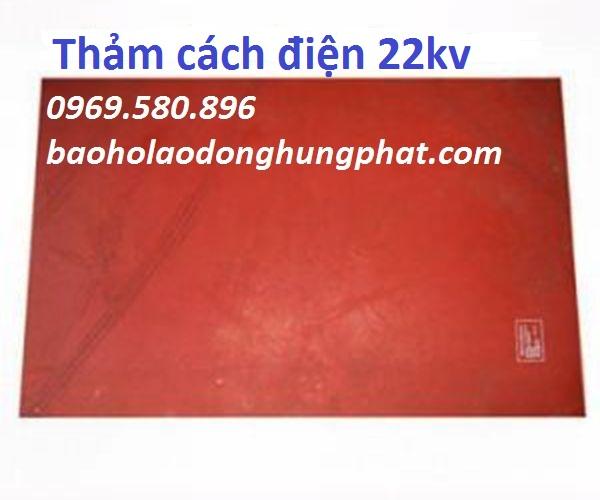 Thảm cách điện  22KV (VI CA DI ) KT 1m x 0,65m
