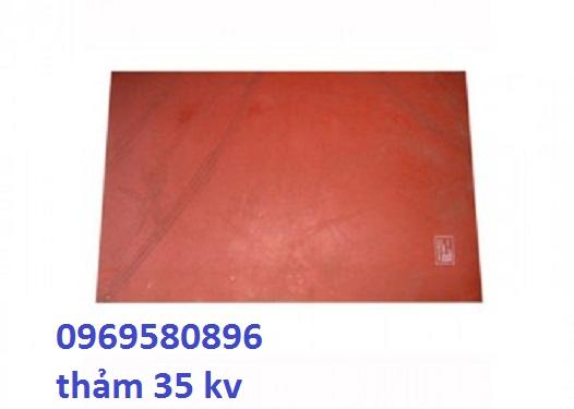 Thảm cách điện 35 kv KT:1000*800mm