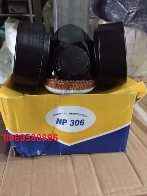 Mặt nạ phòng độc 2phin lọc NP306
