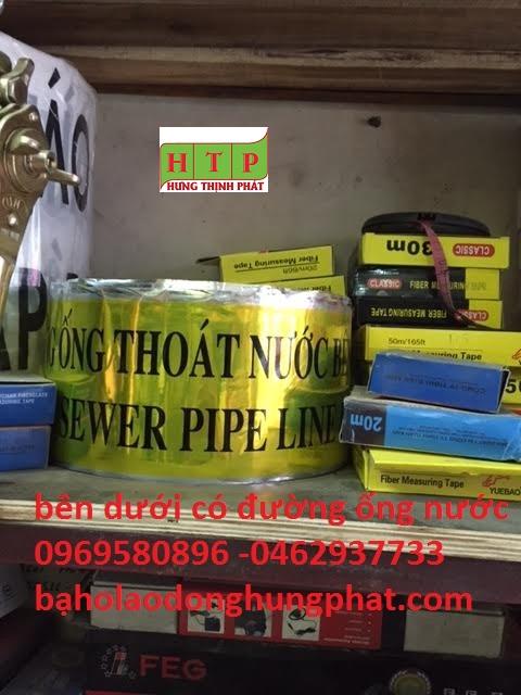 Băng cảnh báo bên dưới có đường ống nước - giá rẻ tại H...